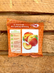 Chipsy brzoskwiniowe Crispy Natural (15g)